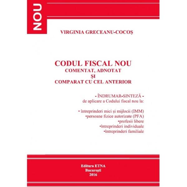 Codul Fiscal Nou